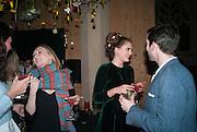 PANDORA MCCORMICK; SYBILLA PHIPPS; KILLIAN BURKE, Fashion and Gardens, The Garden Museum, Lambeth Palace Rd. SE!. 6 February 2014.