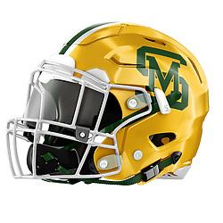 San Marin High School Football Helmet