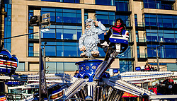 Edinburgh's Christmas 2019:  The 'YETI' ride in Princes Street Gardes