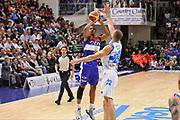 DESCRIZIONE : Campionato 2014/15 Dinamo Banco di Sardegna Sassari - Enel Brindisi<br /> GIOCATORE : Elston Turner<br /> CATEGORIA : Tiro Tre Punti<br /> SQUADRA : Enel Brindisi<br /> EVENTO : LegaBasket Serie A Beko 2014/2015<br /> GARA : Dinamo Banco di Sardegna Sassari - Enel Brindisi<br /> DATA : 27/10/2014<br /> SPORT : Pallacanestro <br /> AUTORE : Agenzia Ciamillo-Castoria / Luigi Canu<br /> Galleria : LegaBasket Serie A Beko 2014/2015<br /> Fotonotizia : Campionato 2014/15 Dinamo Banco di Sardegna Sassari - Enel Brindisi<br /> Predefinita :