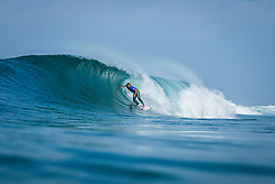 Caio Ibelli (BRA)  Placed 1st in Heat 4 of Round Three at Quiksilver Pro France 2017, Hossegor, France