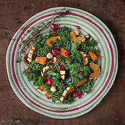 I created this image in my studio using natural light. It was a dish I was inspired to make at the beginning of Fall when all the colorful squash were in season. Very festive and healthy. I styled it in a simplistic and rustic way so not to be intimidating if you were to try on your own. Recipe on my blog at www.unbacioincucina.com.