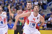 DESCRIZIONE : Berlino Berlin Eurobasket 2015 Group B Spain Serbia <br /> GIOCATORE :  Pau Gasol<br /> CATEGORIA :  Tagliafuori<br /> SQUADRA : Spain<br /> EVENTO : Eurobasket 2015 Group B <br /> GARA : Spain Serbia <br /> DATA : 05/09/2015 <br /> SPORT : Pallacanestro <br /> AUTORE : Agenzia Ciamillo-Castoria/I.Mancini<br /> Galleria : Eurobasket 2015 <br /> Fotonotizia : Berlino Berlin Eurobasket 2015 Group B Spain Serbia