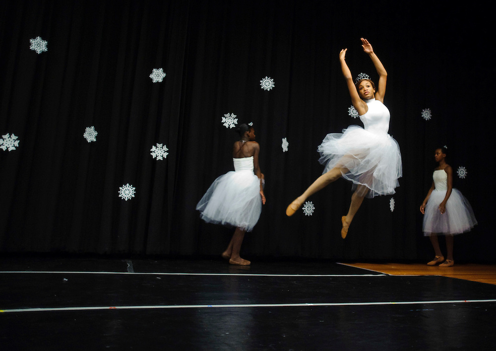 (photo by Matt Roth)..SNOW.Inertia Performing Arts and Expressions in Motion's 2009 Winter Wonderland performance held at the University of Baltimore's Langsdale Auditorium Saturday, December 12, 2009.