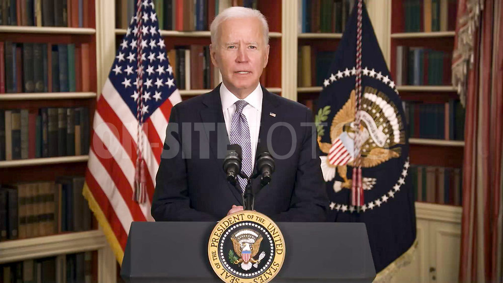 ROLL UP YOUR SLEEVES: PRESENTED BY WALGREENS -- Roll Up Your Sleeves: Presented by Walgreens -- Pictured in this screengrab: President Joe Biden -- (Photo by: NBC)