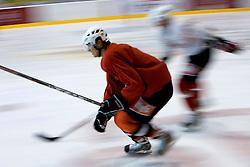 Marcel Rodman, member of HK Acroni Jesenice ice-hockey team for season 2008/2009 at practice in Arena Podmezaklja, Jesenice, on September 24, 2008. (Photo by Vid Ponikvar / Sportal Images)