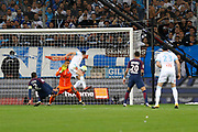 Florian Thauvin of OM goal during the French Championship Ligue 1 football match between Olympique de Marseille and Paris Saint-Germain on October 22, 2017 at Orange Velodrome stadium in Marseille, France - Photo Philippe Laurenson / ProSportsImages / DPPI