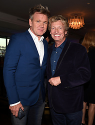 WEST HOLLYWOOD - AUGUST 8: MASTERCHEF Host/Executive Producer Gordon Ramsay and SO YOU THINK YOU CAN DANCE Judge/Executive Producer Nigel Lythgoe attend FOX and FX 2017 Summer TCA All-Star party at Soho House on August 8, 2017 in West Hollywood, California. (Photo by Frank Micelotta/FOX/PictureGroup) *** Please Use Credit from Credit Field ***