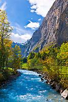 Lauterbrunnen Valley, Canton Bern, Switzerland
