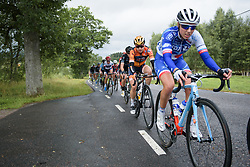 Megan Guarnier at the Crescent Vargarda - a 152 km road race, starting and finishing in Vargarda on August 13, 2017, in Vastra Gotaland, Sweden. (Photo by Sean Robinson/Velofocus.com)