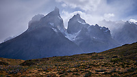 Sky and Clouds in Torres del Paine National Park. Image taken with a Fuji X-T1 camera and Zeiss 32 mm f/1.8 lens.