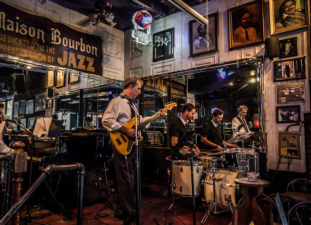 The jazz is everywhere in New Orlean