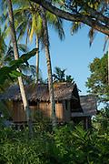 Wooden hut, Tufi, Cape Nelson, Oro Province, Papua New Guinea
