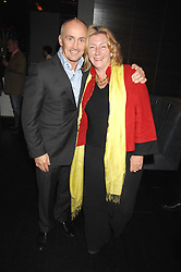 BARRY McGUIGAN and ROSIE BOYCOTT at the opening of Marco the new Marco Pierre White restaurant at Stamford Bridge, Fulham Road, London on 25th September 2007.<br /><br />NON EXCLUSIVE - WORLD RIGHTS