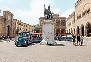 ITALY, RIMINI, Piazza Cavour