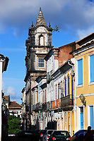 pelourinho area in the beautiful city of salvador in bahia state brazil