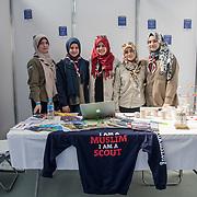 London Muslim Lifestyle Show 2018 at Olympia London, UK