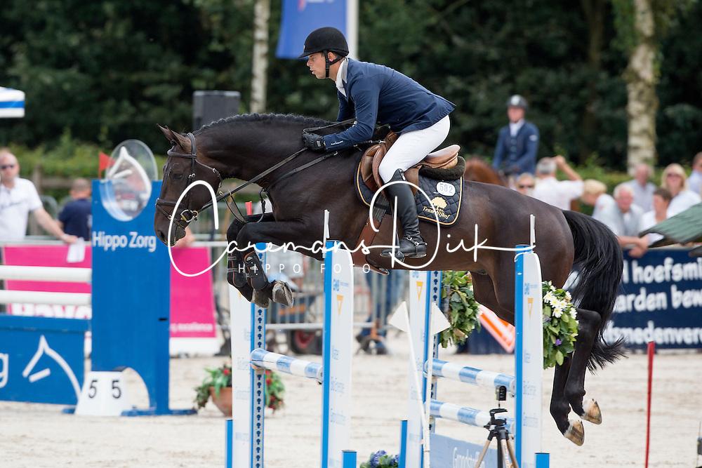 Ellermann Hanno - Starpower TN<br /> KWPN Paardendagen - Ermelo 2012<br /> © Dirk Caremans