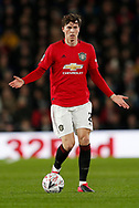 Victor Lindelof of Manchester United during the FA Cup match at the Pride Park Stadium, Derby. Picture date: 5th March 2020. Picture credit should read: Darren Staples/Sportimage