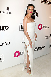 February 24, 2019 - West Hollywood, CA, USA - LOS ANGELES - FEB 24:  Adriana Lima at the Elton John Oscar Viewing Party on the West Hollywood Park on February 24, 2019 in West Hollywood, CA (Credit Image: © Kay Blake/ZUMA Wire)