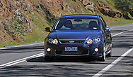 2009 Ford Performance Vehicles FPV F6E - Sensation Blue.Broadford, Victoria.29th September 2009.(C) Joel Strickland Photographics.Use information: This image is intended for Editorial use only (e.g. news or commentary, print or electronic). Any commercial or promotional use requires additional clearance.