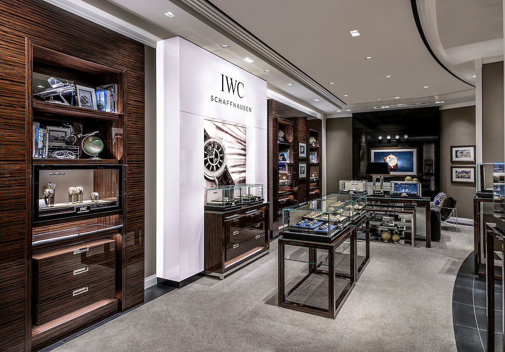 IWC new store on 29 September 2016 in Wynn casino, Macau, China. Photo by Victor Fraile / Illume Visuals