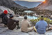 Onion Valley, Sierra Nevada mountain range, CA USA