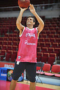 Danzica - Polonia 03 Agosto 2012 - Nazionale Italia Maschile Allenamento - <br /> Nella Foto : ANDREA CINCIARINI<br /> Foto Ciamillo
