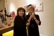 HARRIET THORPE; DAWN KEELER, The Actors Centre's 30th Birthday Party. 1a Tower St, Covent Garden. London. 2nd November<br /> *** Local Caption *** -DO NOT ARCHIVE -Copyright Photograph by Dafydd Jones. 248 Clapham Rd. London SW9 0PZ. Tel 0207 820 0771. www.dafjones.com