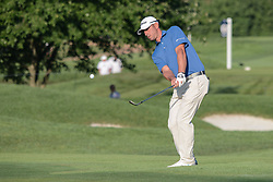 August 10, 2018 - Town And Country, Missouri, U.S - DANNY BALIN from Rye New York, USA  chips onto the fourth green during round two of the 100th PGA Championship on Friday, August 10, 2018, held at Bellerive Country Club in Town and Country, MO (Photo credit Richard Ulreich / ZUMA Press) (Credit Image: © Richard Ulreich via ZUMA Wire)