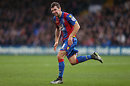James McArthur of Crystal Palace in action. Barclays Premier League match, Crystal Palace v Swansea city at Selhurst Park in London on Monday 28th December 2015.<br /> pic by John Patrick Fletcher, Andrew Orchard sports photography.
