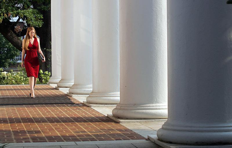 Peabody Hall exterior shots September 27, 2007 at UVa in Charlottesville, VA. (Photo/Andrew Shurtleff)