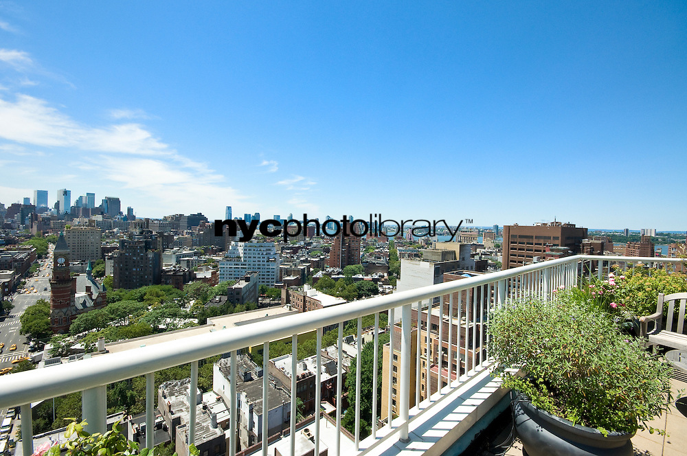 Roof Deck at 101 West 12th St