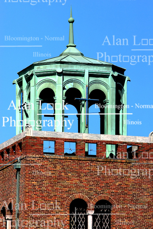 17 September 2011:  Tower behind Bromenn Advocate in Normal IL.. This image is a High Dynamic Range image (HDR).  It may or may not recreate the scene in a proper or historic manner.  If used editorially it should be captioned as an illustration.
