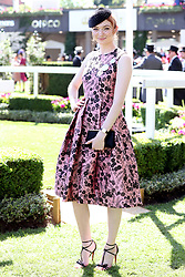 Miss Eleanor Tomlinson during day four of Royal Ascot at Ascot Racecourse.