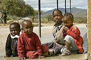 Rural children in Tanzania