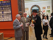 GILBERT AND GEORGE; BOB AND ROBERTA SMITH, Royal Academy of Arts Annual Dinner. Burlington House, Piccadilly. London. 6 June 2017