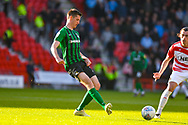 Dominic Hyam of Coventry City (15) passes the ball during the EFL Sky Bet League 1 match between Doncaster Rovers and Coventry City at the Keepmoat Stadium, Doncaster, England on 4 May 2019.