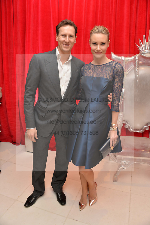BRENDAN COLE and his wife ZOE at a pre party for the English National Ballet's Christmas performance of The Nutcracker was held at the St.Martin's Lane Hotel, St.Martin's Lane, London on 12th December 2013.