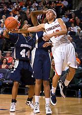 20081218 - Monmouth at #17 Virginia (NCAA Women's Basketball)