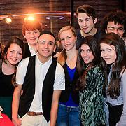 NLD/Haarlem/20121208 - Premiere Wreck - It Ralph, Raynor Arkenbout en deel cast VRijland, Rachelle Verdel, Sietske van der Bijl, Kim Coelewij, Martijn Zeeman