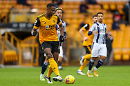 Willy Boly (15) of Wolverhampton Wanderers during the Premier League match between Wolverhampton Wanderers and West Bromwich Albion at Molineux, Wolverhampton, England on 16 January 2021.