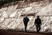 Jeceaba_MG, Brasil...Construcao de uma usina siderurgica em Jeceaba, Minas Gerais...The construction of the steel industry in Jeceaba, Minas Gerais...Foto: BRUNO MAGALHAES / NITRO