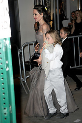 September 15, 2017 - New York, NY, USA - September 14, 2017 New York City..Angelina Jolie and Vivienne Jolie-Pitt seen on September 14, 2017 in New York City. (Credit Image: © Kristin Callahan/Ace Pictures via ZUMA Press)