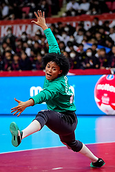 03-12-2019 JAP: Netherlands - Cuba, Kumamoto<br /> Third match 24th IHF Women's Handball World Championship, Netherlands win the third match against Cuba with 51- 23. / Indiana Cedeno Ramos #12 of Cuba