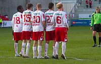 Fotball , <br /> Adeccoligaen , <br /> Seriekamp , <br /> Fredrikstad Stadio , <br /> Fredrikstad - Strømmen, <br /> 09.05.10 , <br /> FFK stiller seg opp for et frispark. t.v) Amin Askar, Joachim Tomassen, Mattias Andersson, Celso Borges og Hans Erik Ramberg<br /> Foto: Christoffer Andersen / Digitalsport ,