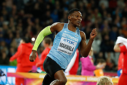 Botswana's Isaac Makwala qualifying for the final of the 200 meters men during the IAAF World Athletics 2017 Championships In Olympic Stadium, Queen Elisabeth Park, London, UK, on August 9, 2017 Photo by Henri Szwarc/ABACAPRESS.COM