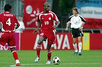 Fotball <br /> FIFA World Youth Championships 2005<br /> Enschede<br /> Nederland / Holland<br /> 11.06.2005<br /> Foto: Morten Olsen, Digitalsport<br /> <br /> Tyskland v Egypt 2-0 / Germany v Egypt 2-0<br /> <br /> Abdallah Said / EGY