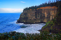 Cliffs of Cape Meares, Oregon