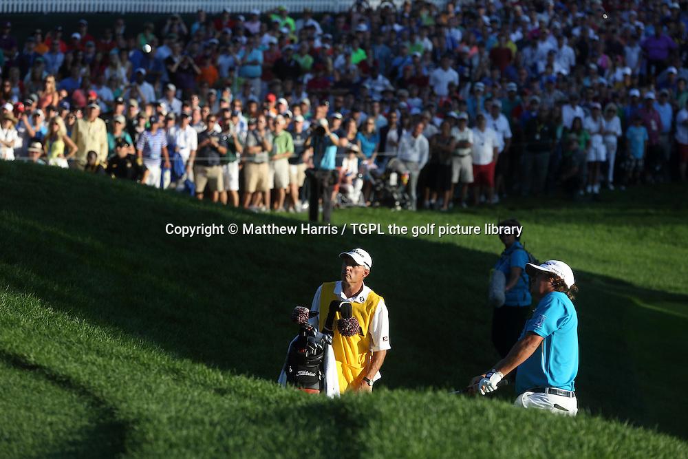 Jason DUFNER (USA) during fourth round US PGA Championship 2013,Oak Hill CC,